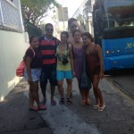 Students has the opportunity to practice communicating in English on their Key West trip