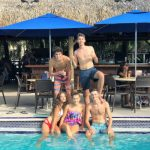 Students from EC English Center in Miami enjoy happy hour at Monty's