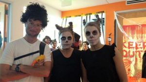 EC Miami Celebrates Halloween.