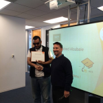 Fahed from Saudi Arabia graduating from EC San Francisco.