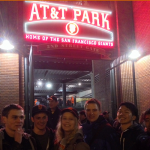 EC San Francisco students study ESL in San Francisco and go to baseball games