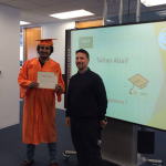Sultan from Saudi Arabia graduates from EC San Francisco