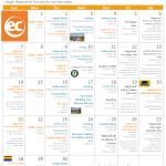 Activity Calendar for June 2015 at EC San Francisco