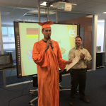 Christoph has graduated from studying English at San Francisco