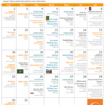 August 2015 EC San Francisco Activities Calendar