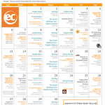 EC San Francisco Activity Calendar for September