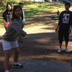 EC Activities join in Disc Golf at EC San Francisco