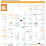 December Activity Calendar EC San Francisco