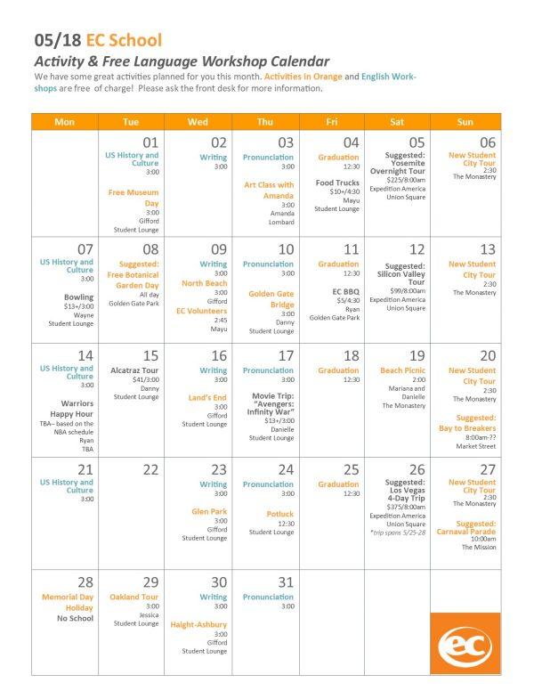 May-Activity-Calender