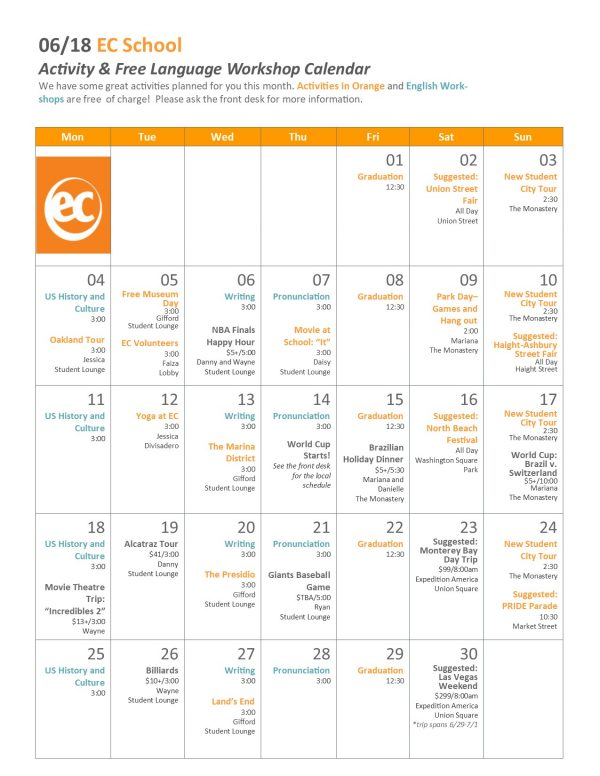 Activity-Calendar-June-2018-English-School