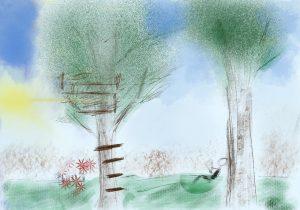 drawing at Apple Inc