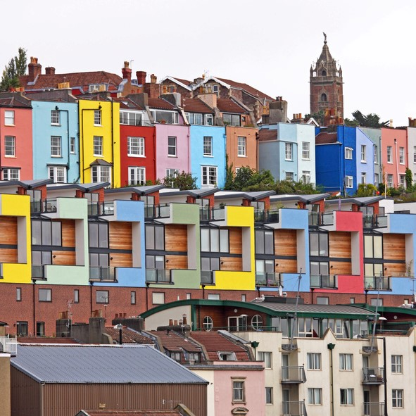 Bristol's colourful houses