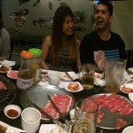 ECLA, staff night out, korean bbq, english