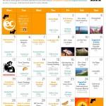 October 2015 Activities Calendar
