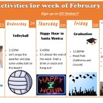 This week's activities from ECLA!