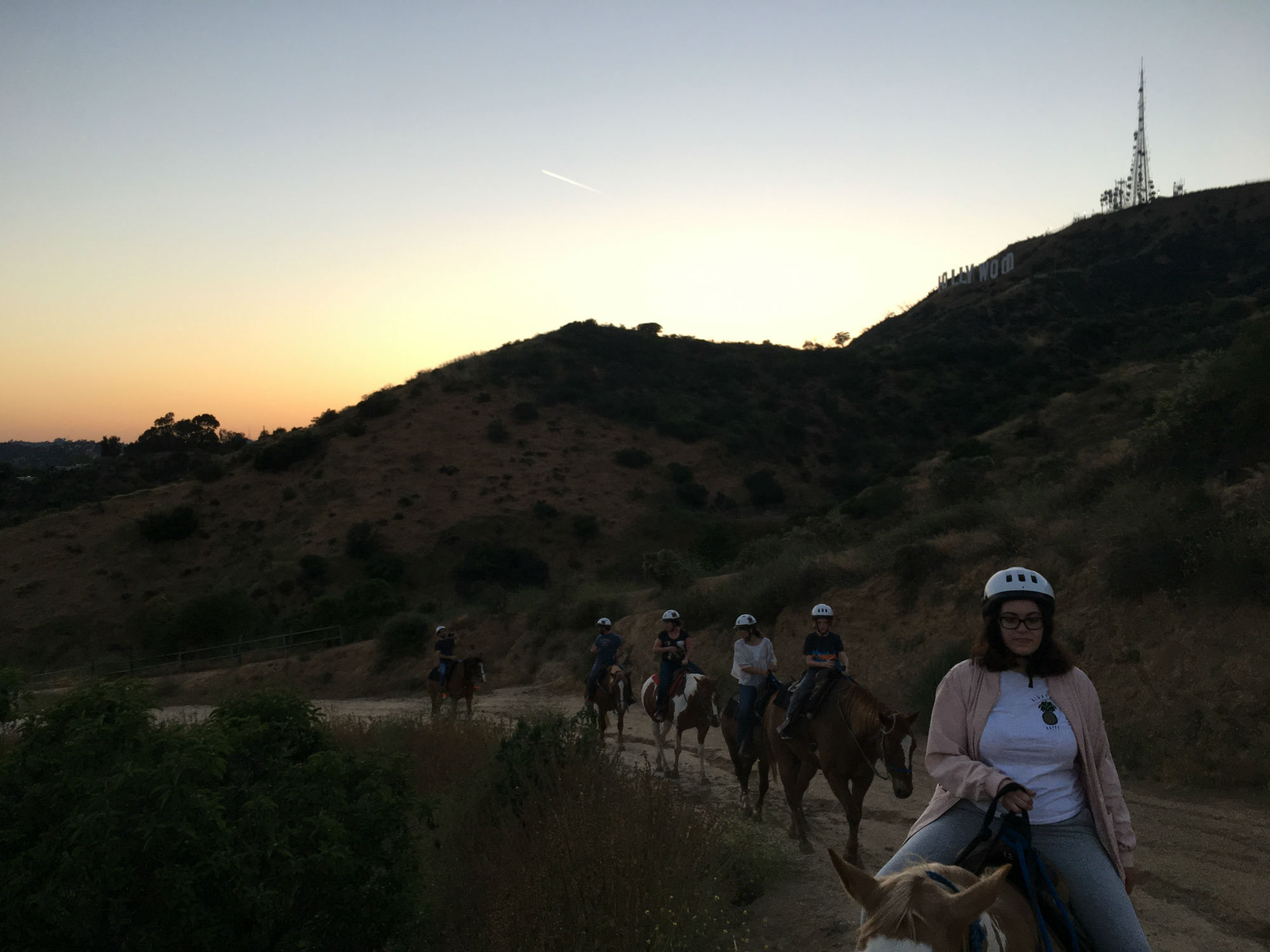 Ride a horse in Hollywood!
