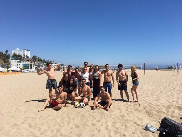 Sunny Days in Santa Monica!