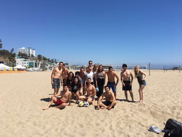 Making Friends at Beach Volleyball!