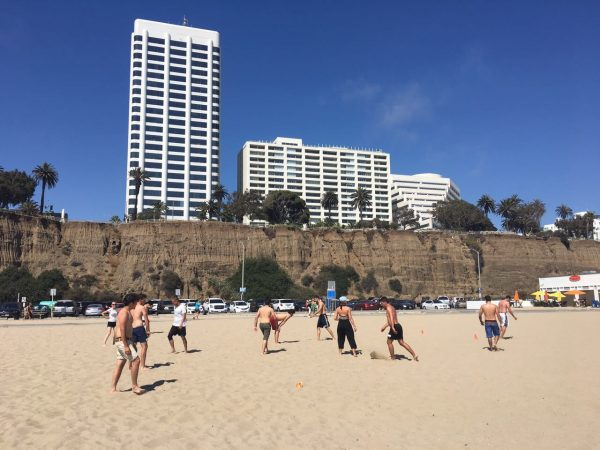 Soccer and Volleyball at the Beach!