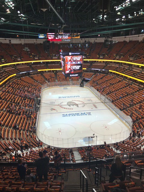 Inside the Honda Center
