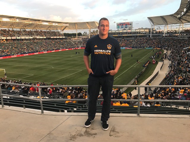 The StubHub Center, home of the Galaxy.