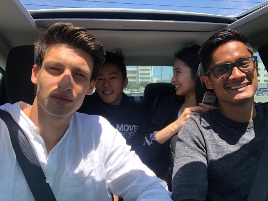 Los Angeles car