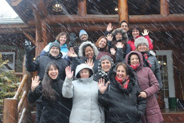 EC Montreal's Sugar Shack Team-Building Event! - EC Montreal Blog