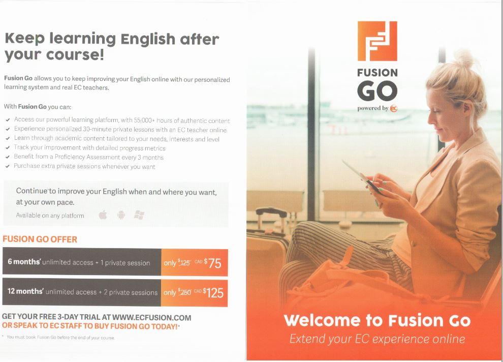 FUSION GO! - EC Toronto Blog