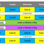 Timetable EC Vancovuer