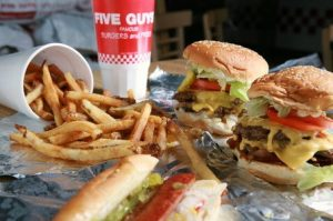 Best Burgers in Vancouver - Five Guys