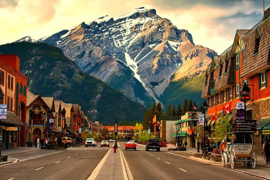 Image result for Banff Town, Alberta