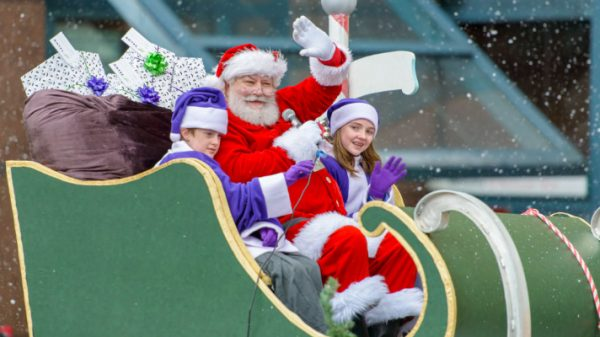 Santa Claus Parade Header