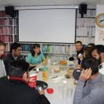 EC Oxford students enjoying our new Breakfast Club!