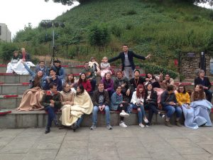 EC Oxford English School at a Shakespeare play