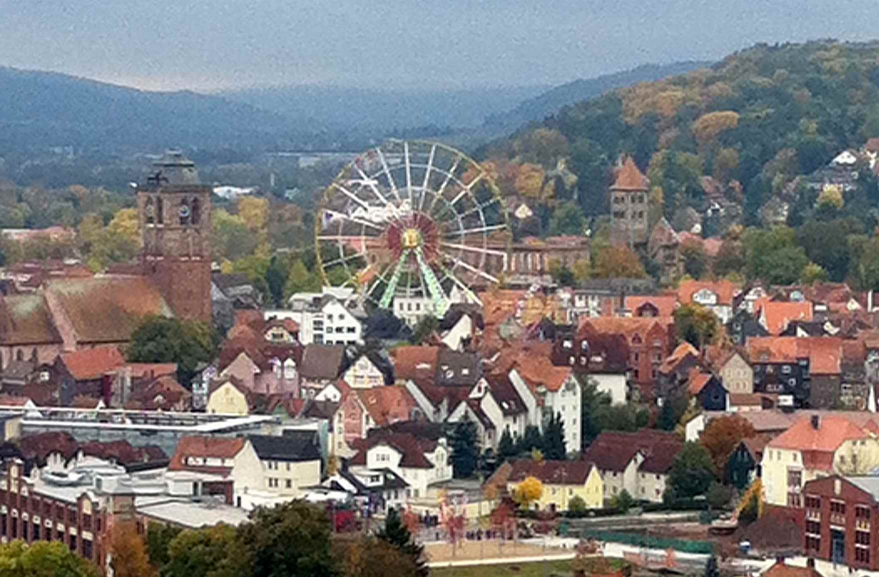 My home town Bad Hersfeld in Germany - EC Oxford