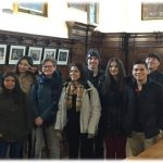 Students from EC Oxford English Centre visiting University College