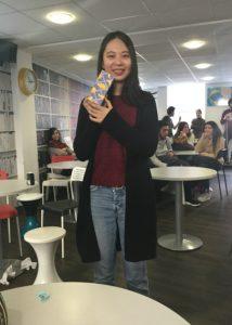 Doris, a student at EC Oxford English Centre