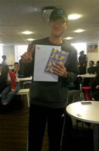 Gyudo, a student at EC Oxford English Centre