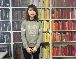 Miyo, new Student Services Intern at EC English Language School in Oxford.