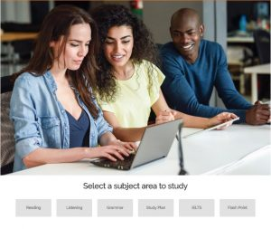 Improve your English with our EC Online Study page