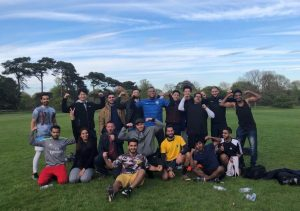 EC Oxford's football team May 2018