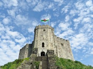Norman keep cardiff visit summer