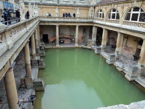 Roman Bath visit