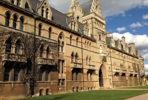 One of the big attractions in Oxford: Christchurch College