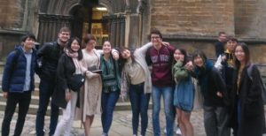 Tour of University College, Oxford by EC Oxford Students