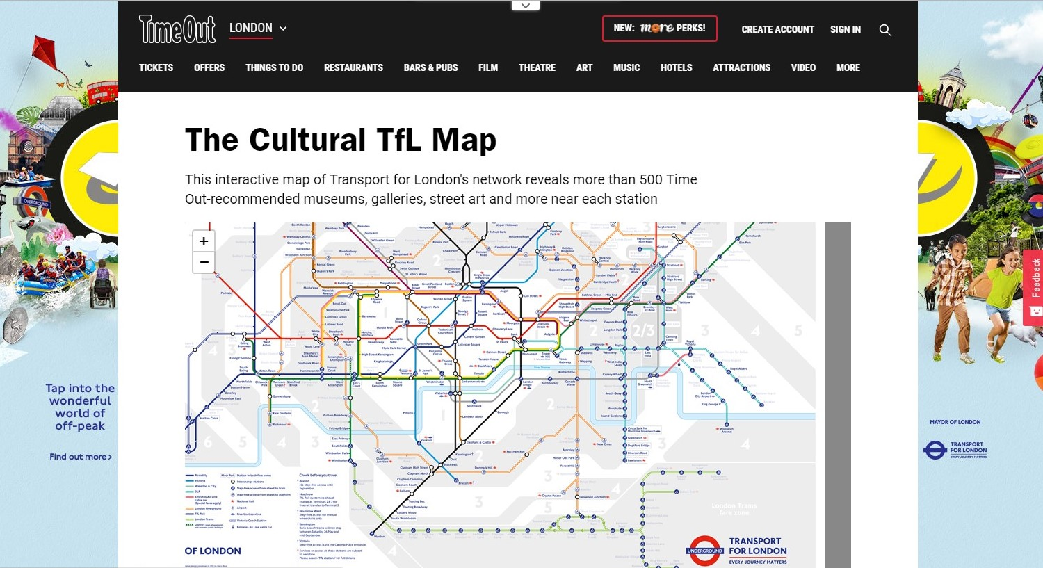 Interactive Map Of London.London S Interactive Map Ec London 30