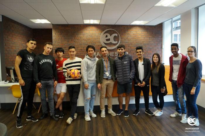 Jason's last week at EC Manchester