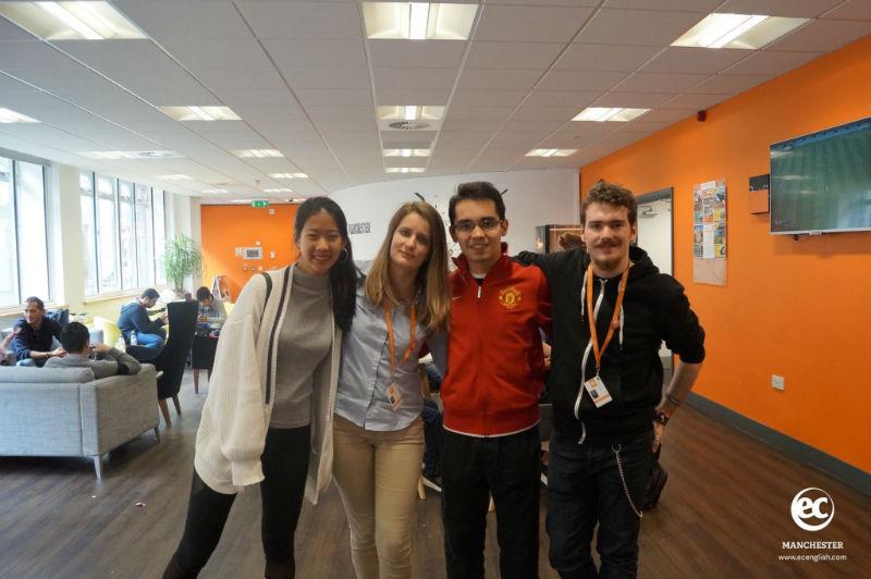 EC Manchester English Student Ambassador Testimonial by Ricardo