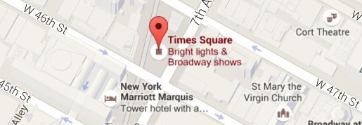 Times Square Maps