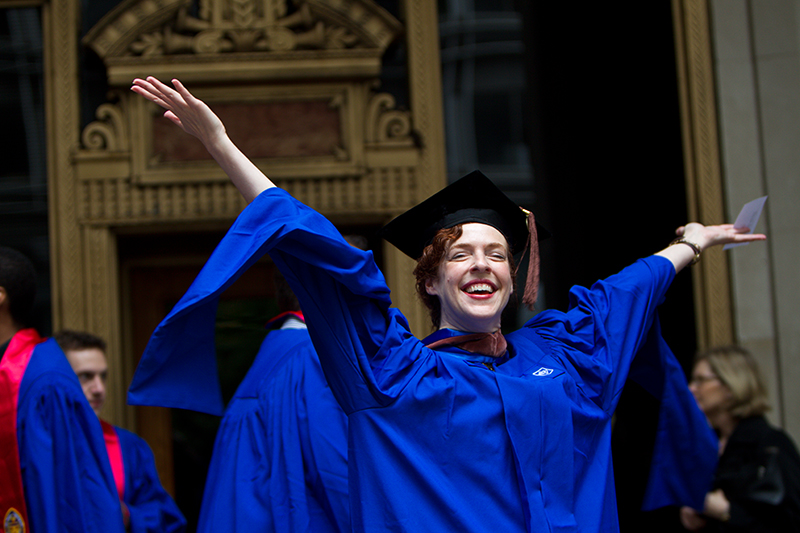 Take steps to study and graduate from DePaul University, Chicago today, with EC!